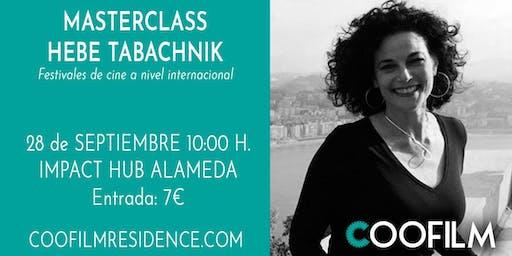 Masterclass sobre Festivales de cine con Hebe Tabachnik. Programa Coofilm