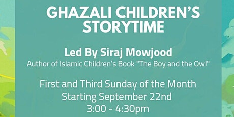 Ghazali Children's Storytime tickets