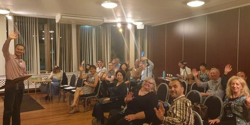 Learn Public Speaking at Epsom Speakers (Toastmasters Club)