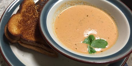 Kids' Cooking Class- Tomato Basil Soup & Grilled Cheese! tickets
