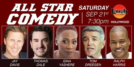 Gina Yashere, Ralph Harris, and more - Special Event:  All-Star Comedy tickets