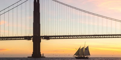 New Year's Day 2020 Sunset Sail on San Francisco Bay