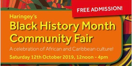 Haringey's Black History Month Community Fair tickets