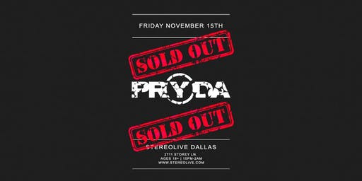 Pryda - Stereo Live Dallas
