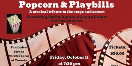 Popcorn & Playbills: A musical tribute to stage and screen tickets