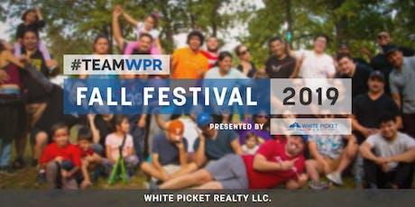 #TeamWPR Fall Festival 2019 tickets