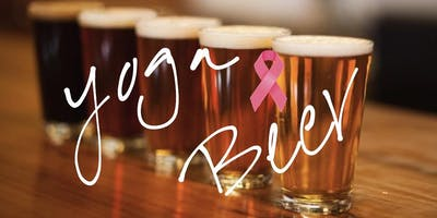 Yoga & Beer for Breast Cancer Awareness