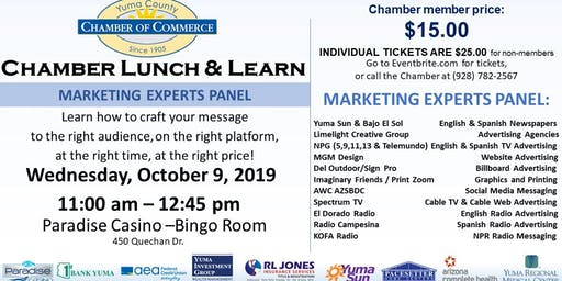 Chamber Lunch and Learn