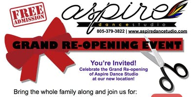 Aspire Dance Studio Grand Re-Opening!