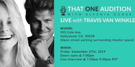 Film Industry Event: THAT ONE AUDITION PODCAST-LIVE TAPING tickets