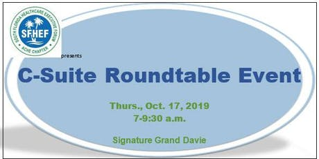 CEO Roundtable 2019 tickets