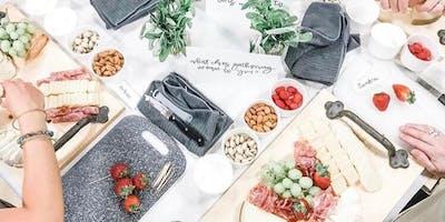 Harvest Charcuterie W/ Elegant Thanksgiving Serving Platter