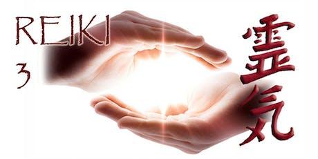 Reiki Level 3 Training & Attunement tickets