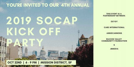 "SOCAP19 - ""Unofficial"" Kick Off Party tickets"
