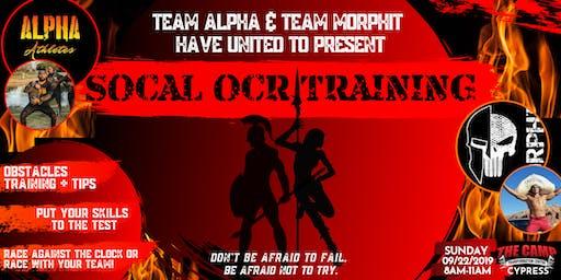 SOCAL OCR TRAINING with Mr. Alpha & El Capitan
