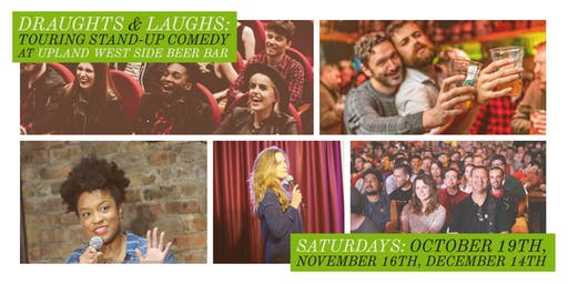 Draughts & Laughs: Touring Stand-up Comedy at Upland!