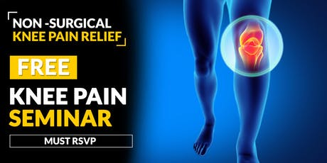 FREE Non-Surgical Knee Pain Relief Seminar - Ridgeland, MS 9/26 tickets