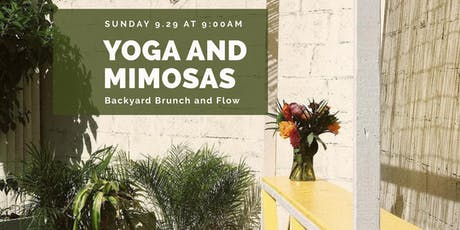 Yoga and Mimosas: Backyard Brunch and Flow tickets