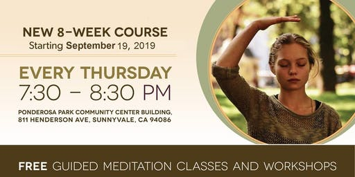 FREE 8-week course of Sahaja Yoga Meditation in Sunnyvale