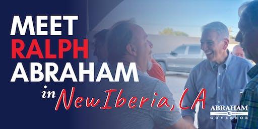 Ralph Abraham New Iberia Meet and Greet