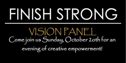 Finish Strong Motivational Event