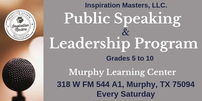 Public Speaking and Leadership Program at Murphy Learning Center, Murphy TX