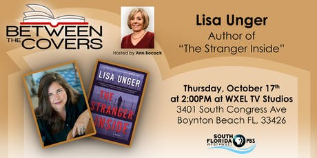 BETWEEN THE COVERS - Live TV Studio Interview - with author Lisa Unger tickets