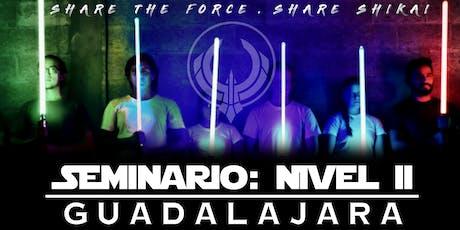 Seminario:Nivel 2 - Guadalajara entradas