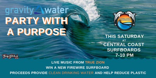 TRUE ZION live | Clean Water for Indo Event @  CCSurf
