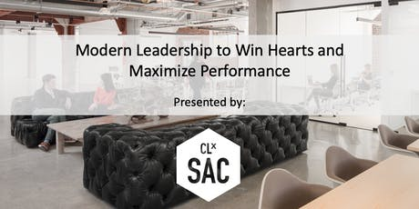 Modern Leadership to Win Hearts and Maximize Performance tickets
