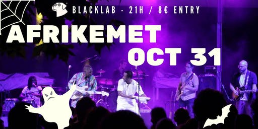 Afrikemet Halloween - Live @BlackLab
