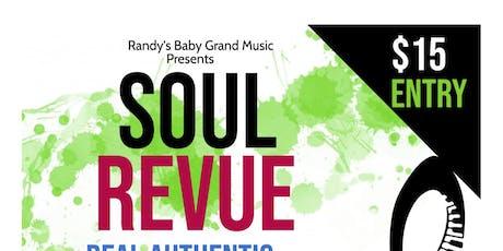 Soul revue Vol. 1 tickets