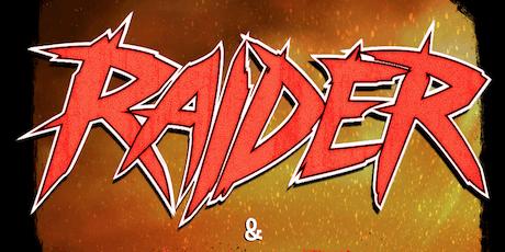 Raider, Beyond All Boundaries, Cathartic Demise, Amarah+invitees tickets