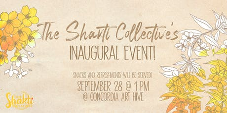 The Shakti Collective Inaugural Event billets
