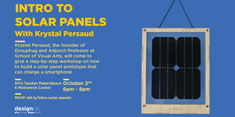 Intro to Solar Panels tickets