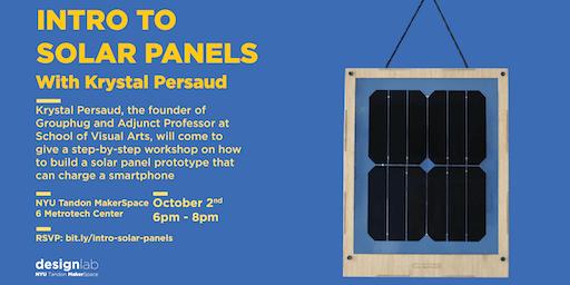 Intro to Solar Panels