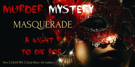 Murder Mystery Masquerade -Halloween Party tickets