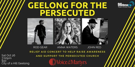 Geelong for the Persecuted tickets
