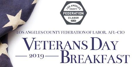 Veterans Day Breakfast 2019 tickets