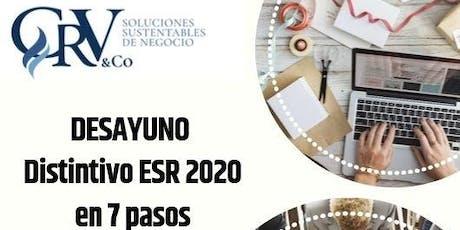 Proyecto Distintivo ESR en 7 pasos entradas