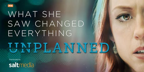 UNPLANNED - Charity Movie Screening (Oct 5, 1.30pm) tickets