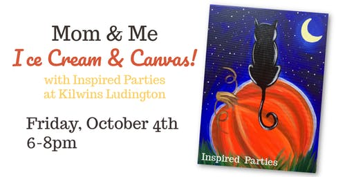 Mom & Me - Ice Cream & Canvas at Kilwins!
