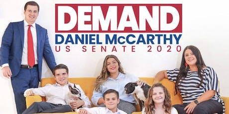 MEET & GREET US SENATE 2020 CANDIDATE Daniel McCarthy  tickets