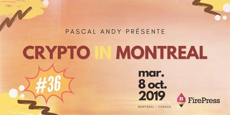Bitcoin Decentralized Governance | CryptoInMontreal #36 tickets