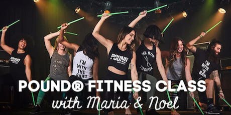 POUND Fitness Class - FREE (Donations to Veterans welcome!) tickets