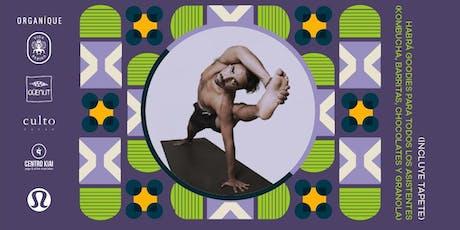 Yoga en Torre Reforma boletos