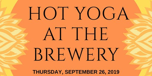 Hot Yoga at the Brewery