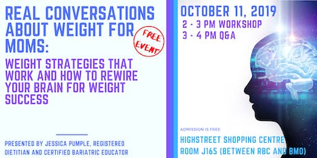 Real Conversations About Weight: Weight Strategies That Work tickets
