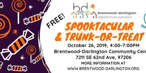 Spooktacular and Trunk or Treat in Brentwood-Darlington