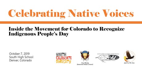 Celebrating Native Voices tickets
